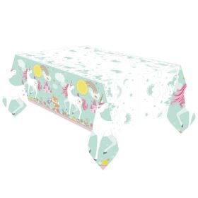 Magical Unicorn Plastic Tablecovers 1.37m x 2.6m