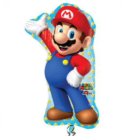 "Super Mario Supershape Foil Balloon 33"""