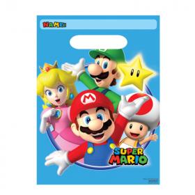 Super Mario Party Bags, pk8