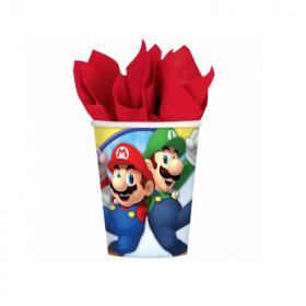 Super Mario Cups 266ml, pk8