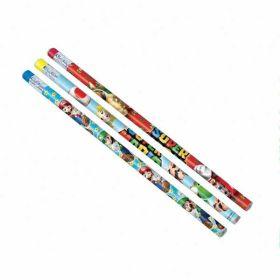 Super Mario Pencils pk12