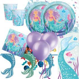 Mermaid Party Supplies Kit