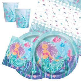 Mermaid Party Tableware Packs