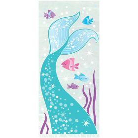 Mermaid Party Cello Bags pk20