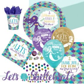 Mermaid Wishes Ultimate Party Pack for 8