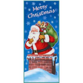 Night Before Christmas Door Poster