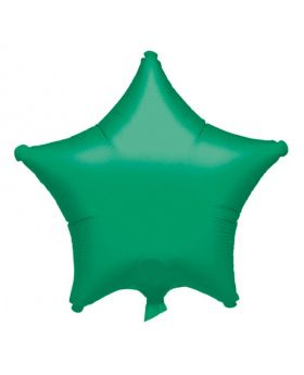 Metalic Green Star Foil Balloon