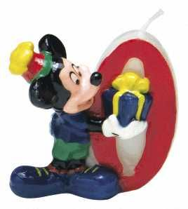 Mickey Mouse Party Candle No.0