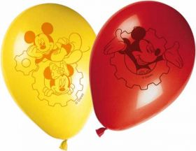 Mickey Mouse Clubhouse Latex Party Balloons pk8