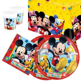 Disney Mickey Mouse Tableware Party Pack for 16