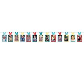Mickey Mouse Photo Garland