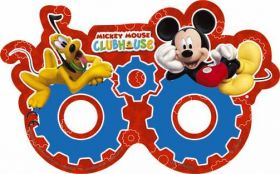 Playful Mickey Mouse Party Masks pk6