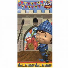 Mike The Knight Castle Die Cut Birthday Card