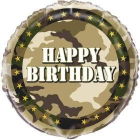 Military Camo Party Balloons