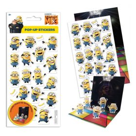 Despicable Me Pop Up Stickers