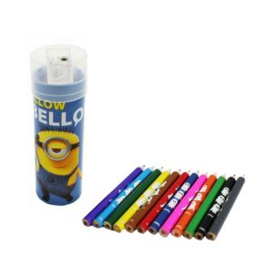 Minions Pencils Case & Sharpener