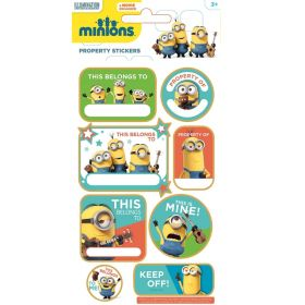 Minions Name Labels