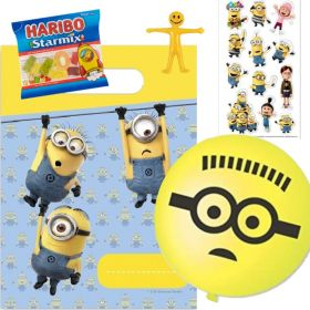 Filled Minions Party Bags