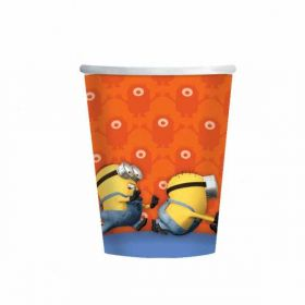 Minions Despicable Me Party Cups, pk8