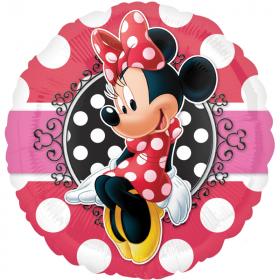 Minnie Mouse Portrait Standard Foil Balloon 17''