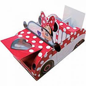 Minnie Mouse Party Food Tray