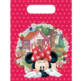 Minnie Jam Packed Plastic Party Bags Pk6