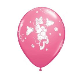 "Disney Minnie Mouse Latex Balloons 12"". pk6"