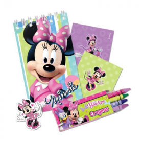 Pink Minnie Mouse Stationery Pack