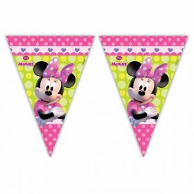 Minnie Mouse Bow-Tique Flag Party Banner 2.3m
