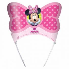 Minnie Mouse Bow-Tique Party Tiaras pk6