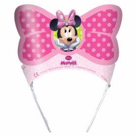Minnie Mouse Bow-Tique Party Tiaras pk6