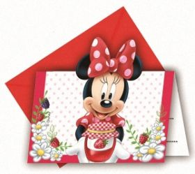 Minnie Jam Packed Invites Pk6