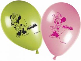 Minnie Mouse Latex Balloons Pk8