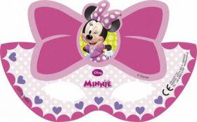 Minnie Bow-Tique Party Masks pk6
