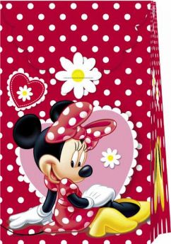 Minnie Mouse Paper Party Bags pk6