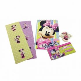 Minnie Mouse (Pink) Stationery Party Favour Pack (20 Pieces)