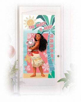 Moana Party Door Banner