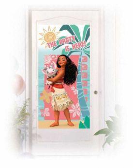 Moana Party Door Banner