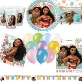 Moana Ultimate Party Kit for 8