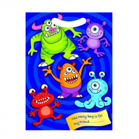 Monster Party Bags, pk8