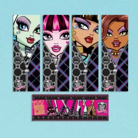 Monster High Bookmarks, pk12