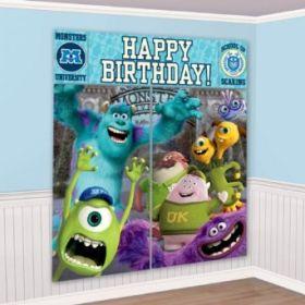 Monsters University Party Scene Setter (5 Pieces)