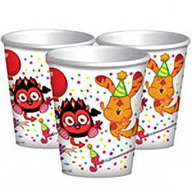 Moshi Monsters Cups, pack of 8 New