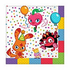 Moshi Monsters Napkins, Pk16, New
