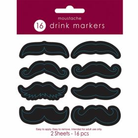 Mouchtache Drink Markers