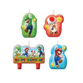 Super Mario Candles Set