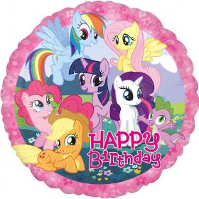 My Little Pony Happy Birthday Foil Party Balloon 18''