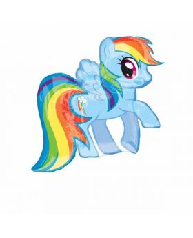 My Little Pony Rainbow Dash SuperShape Foil Party Balloon - 28''
