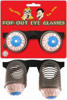 Pop-Out Eye Glasses