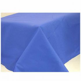 Navy Flag Blue Paper Tablecover 137cm x 284cm
